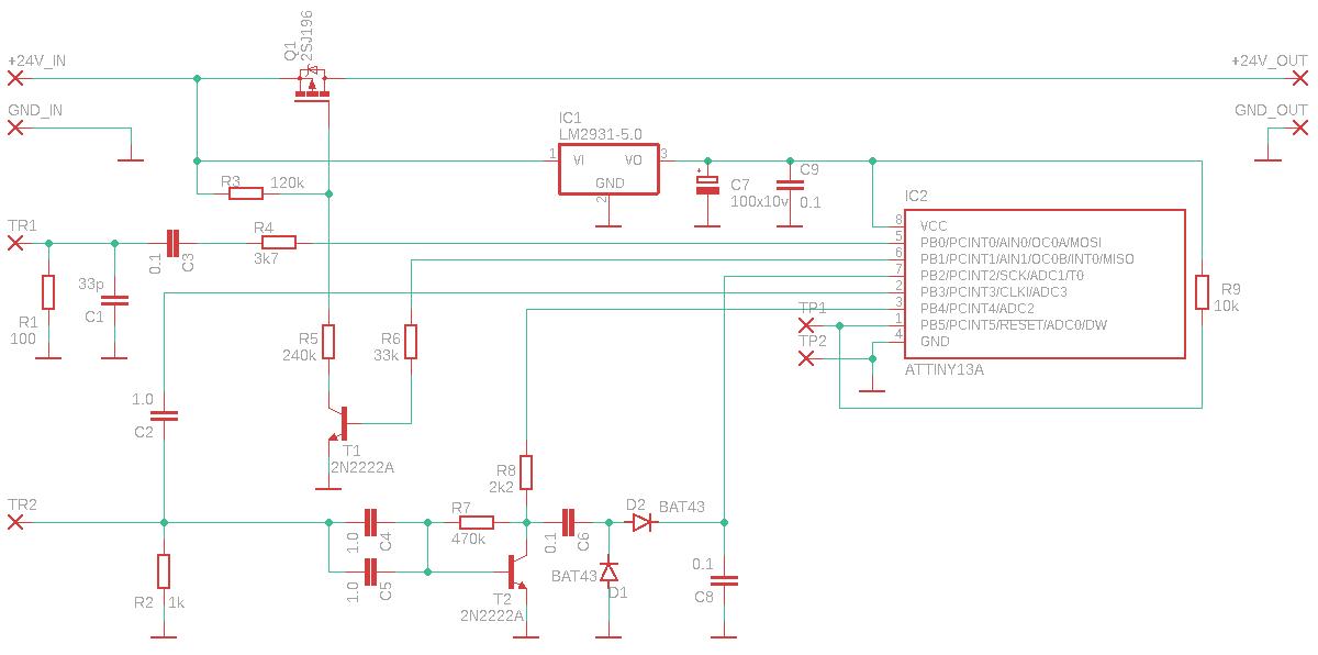 Датчик положения выключателя для аварийного освещения - 5