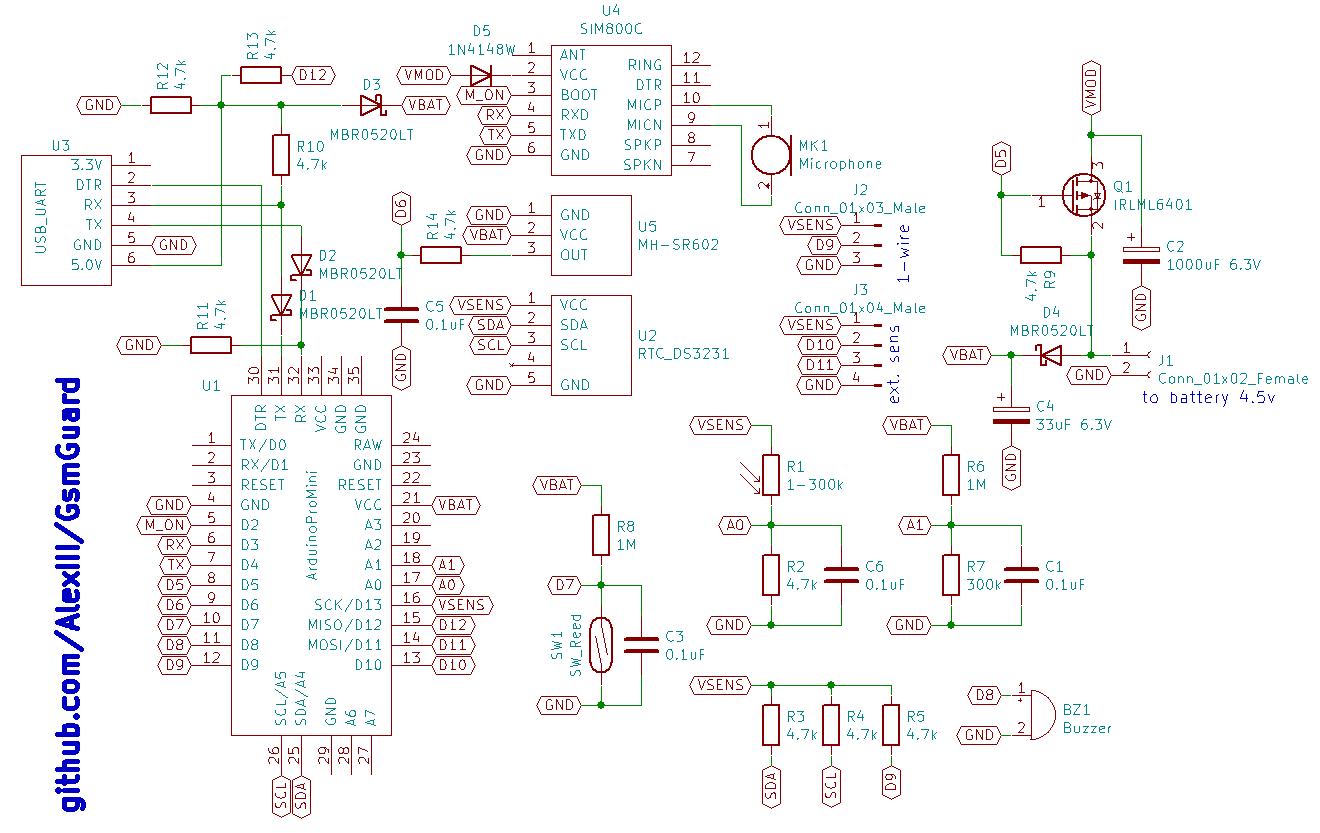 Автономная охранная система на Arduino + GSM - 8