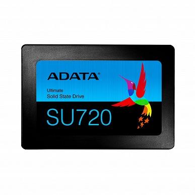 Твердотельные накопители Adata Ultimate SU720 выпускаются объемом до 1 ТБ