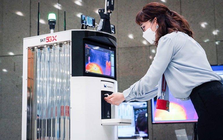 33 квадратных метра. Специалисты SK Telecom и Omron Electronics Korea разработали робота, призванного помочь сдержать распространение коронавируса