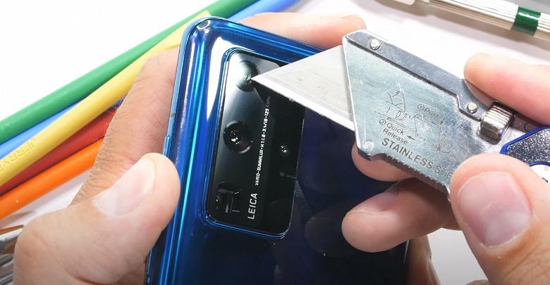 Достаточно ли прочный Huawei P40 Pro? Испытания блогера дают ответ