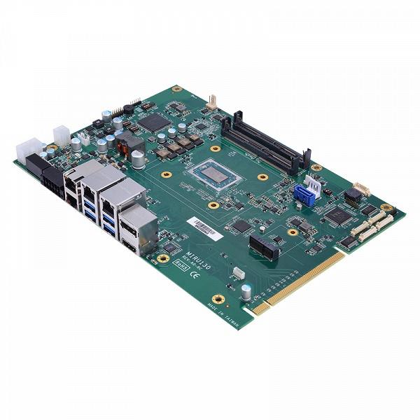 Одноплатный компьютер Axiomtek MIRU130 на APU AMD Ryzen Embedded предназначен для систем машинного зрения и глубокого обучения