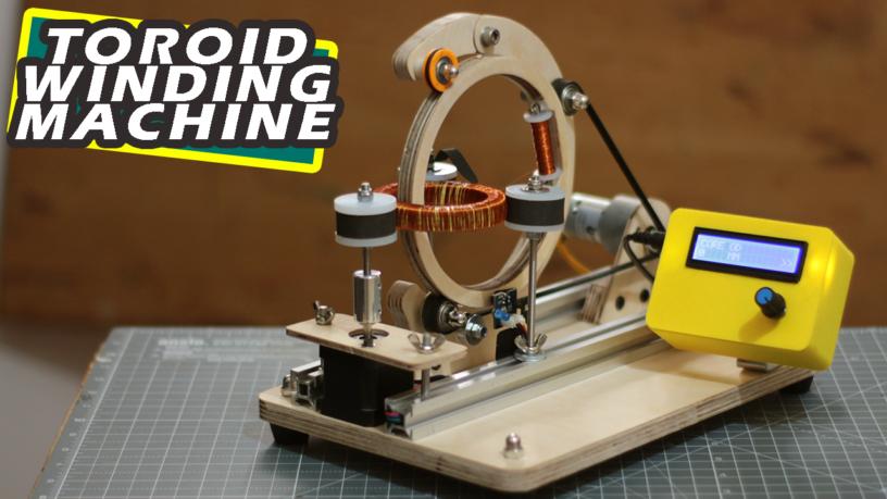 Делаем машину для намотки тороидальных катушек на базе Arduino - 1