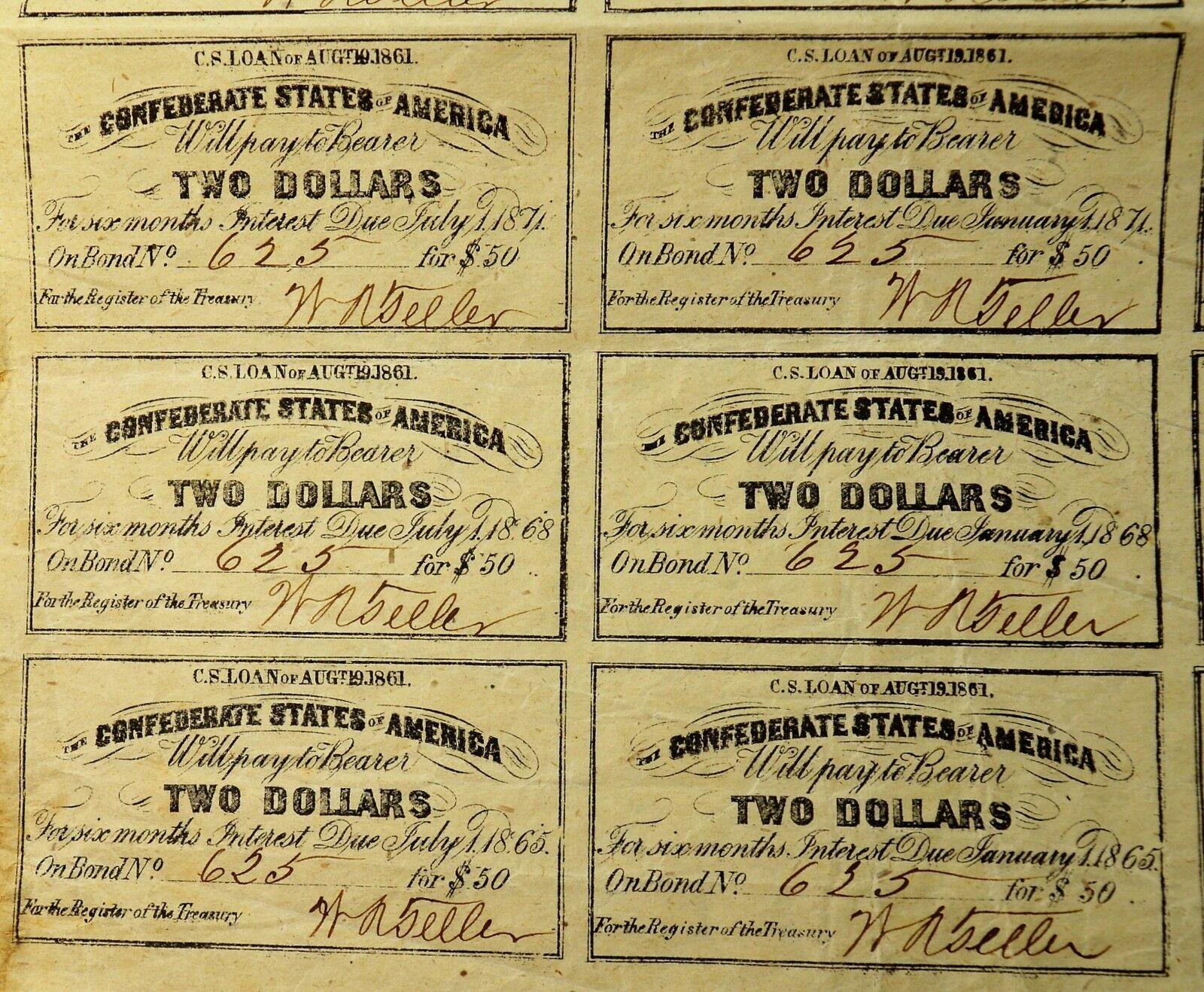 Финансирование Гражданской войны (США против КША) - 6