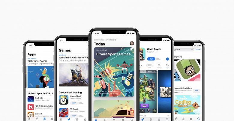 App Store принес более полутриллиона долларов в 2019 году