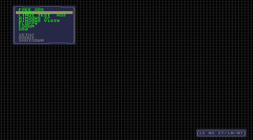 Boot manager для 486-го компьютера - 1