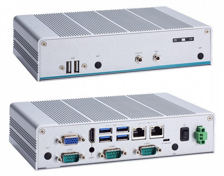Основой встраиваемой системы Axiomtek eBOX626-311-FL служит процессор Intel Atom