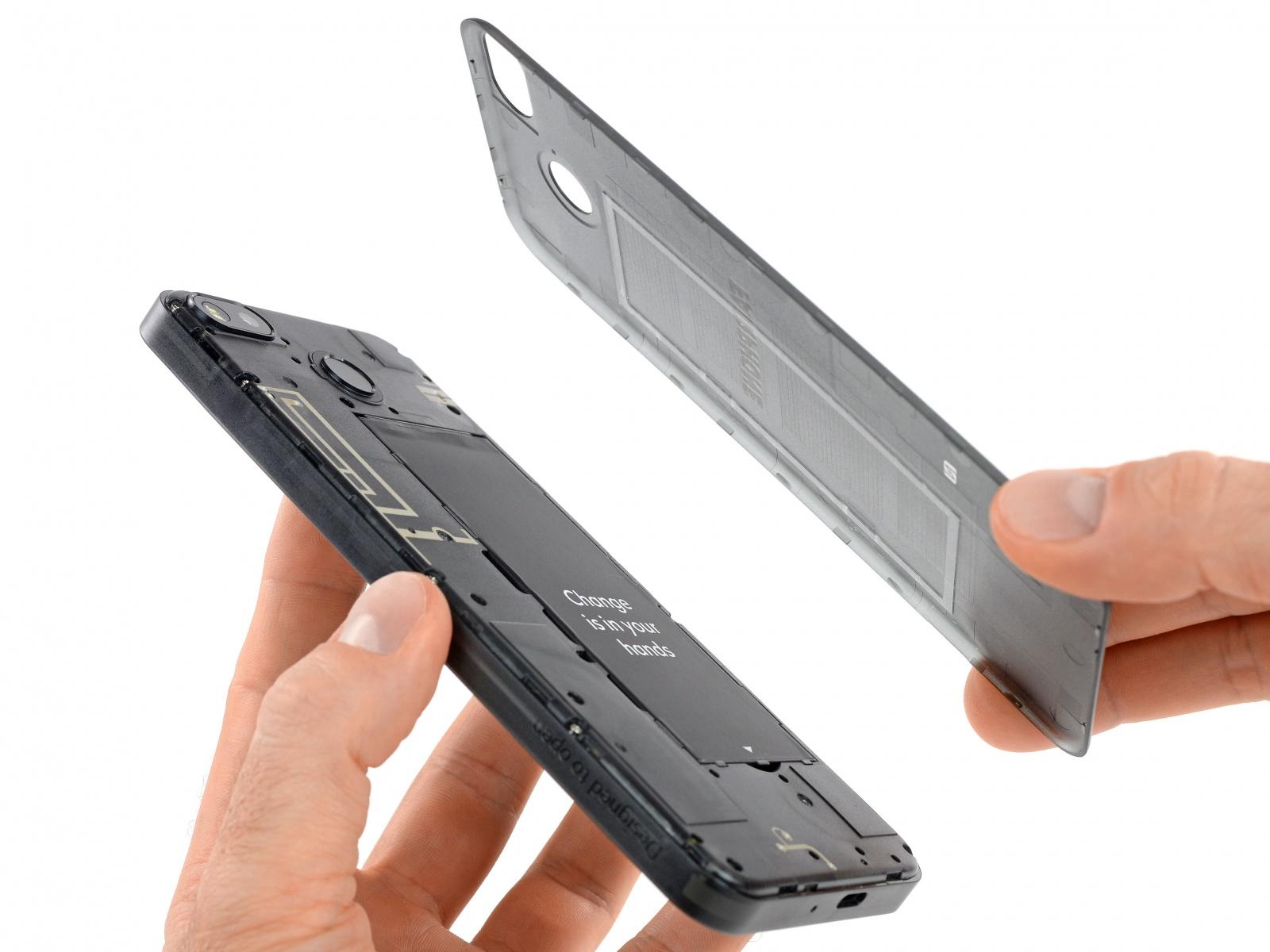 Модульный телефон Fairphone 3 получил обновленную камеру - 4