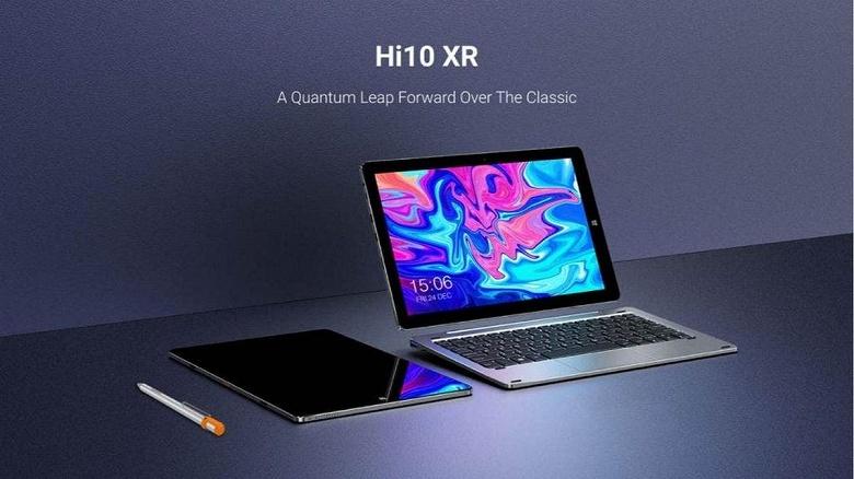 Первый в мире 10-дюймовый планшет с Windows и процессором Celeron N4120. Chuwi Hi10 XR готовится к анонсу