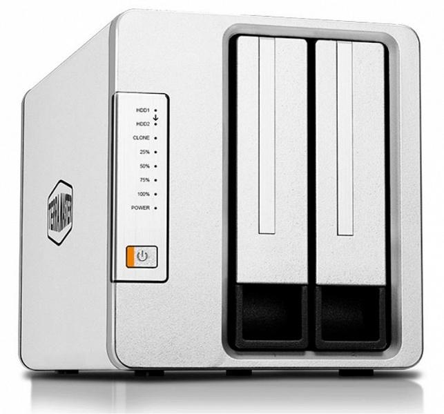 Устройство для клонирования накопителей TerraMaster D2 Clone можно использовать и как внешнее хранилище