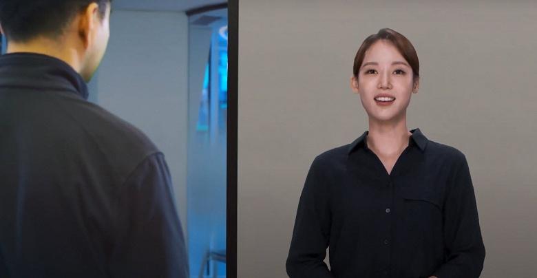 Samsung показала, где уже работают искусственные люди Neon