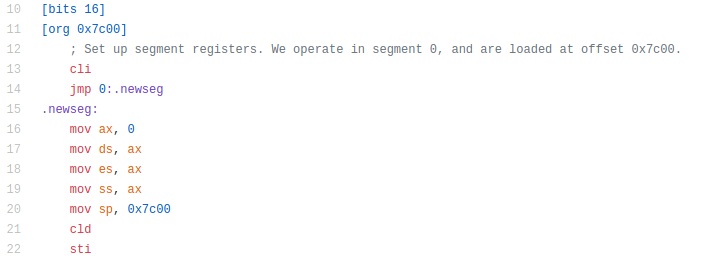 TreeOS. 16-битная рождественская демка в загрузочном секторе - 7
