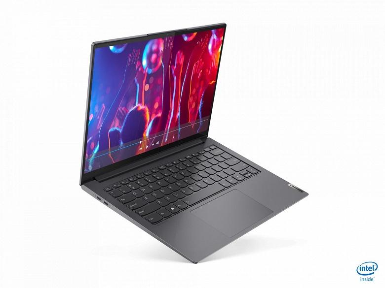 Ноутбук Lenovo Yoga Slim 7i Pro оснащен дисплеем OLED