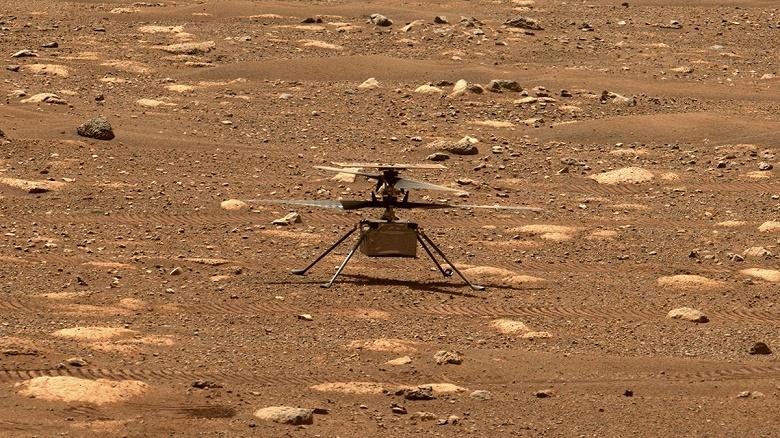 Первый полёт вертолёта на Марсе отложен