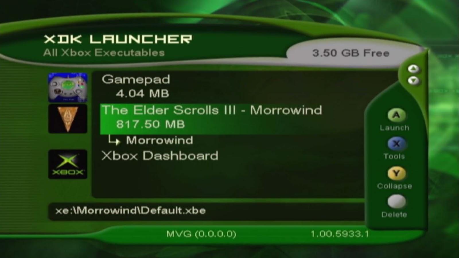 Как и зачем Morrowind перезапускала оригинальный Xbox во время экрана загрузки - 3
