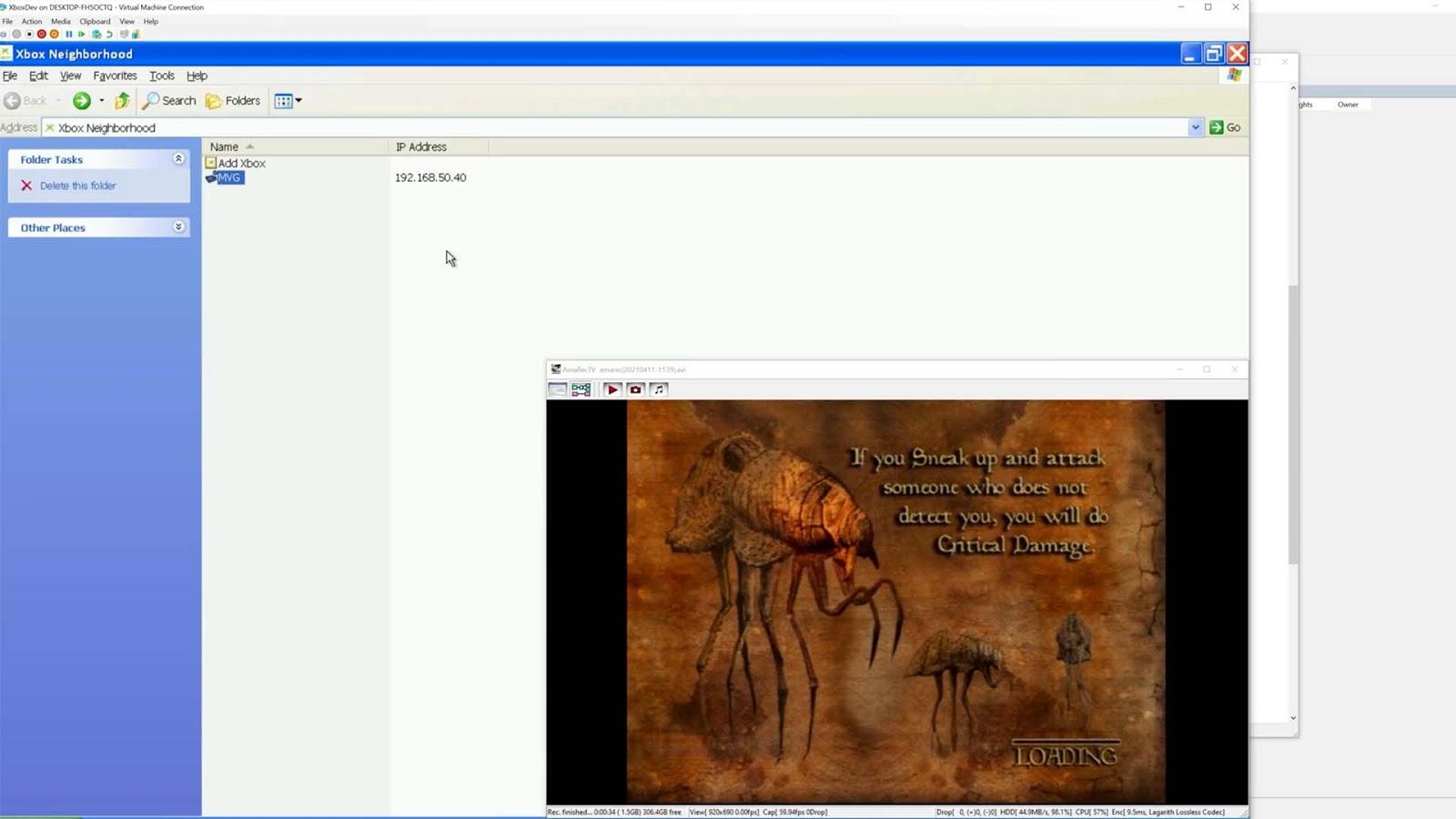 Как и зачем Morrowind перезапускала оригинальный Xbox во время экрана загрузки - 4