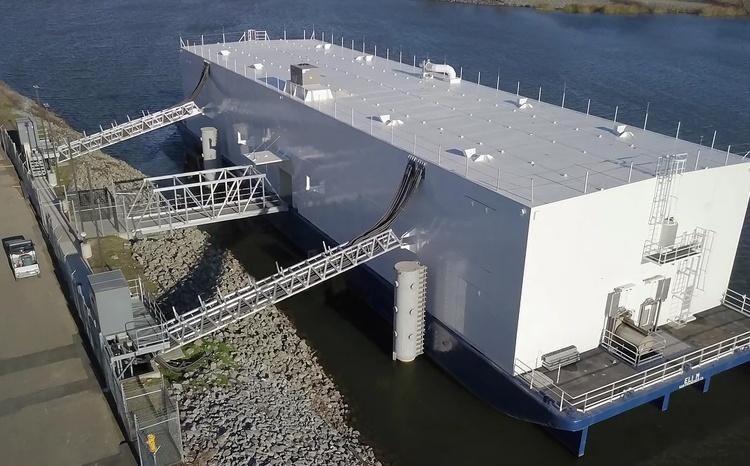 Первый в мире плавучий дата-центр наконец заработал - 1