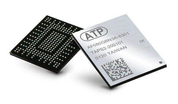 Твердотельные накопители ATP N700 с интерфейсом PCIe Gen3 x4 рассчитаны на монтаж на печатную плату