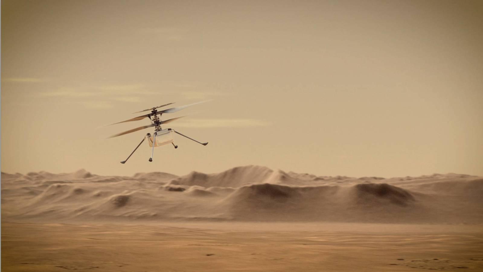 Марсолету Ingenuity продлили миссию — теперь он может летать до осени 2021 года - 1