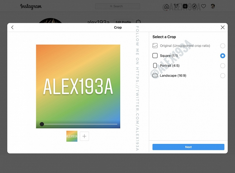 Instagram наконец принесёт главную функциональность на ПК. Публикации через браузер уже тестируются