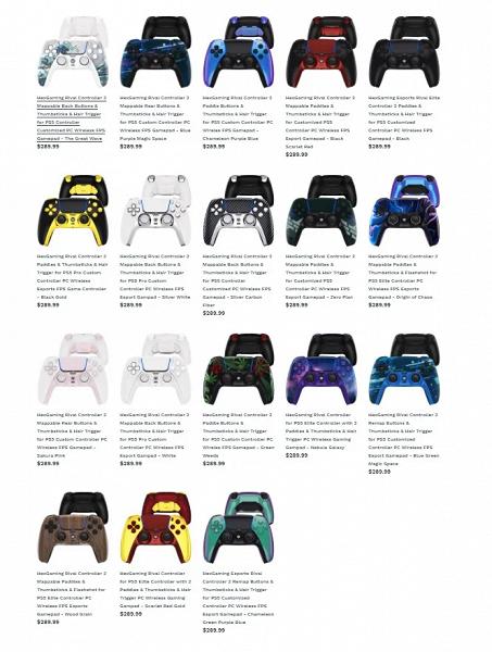 Представлен геймпад Hex Rival для PlayStation 5. Он стоит в 4 раза больше, чем DualSense