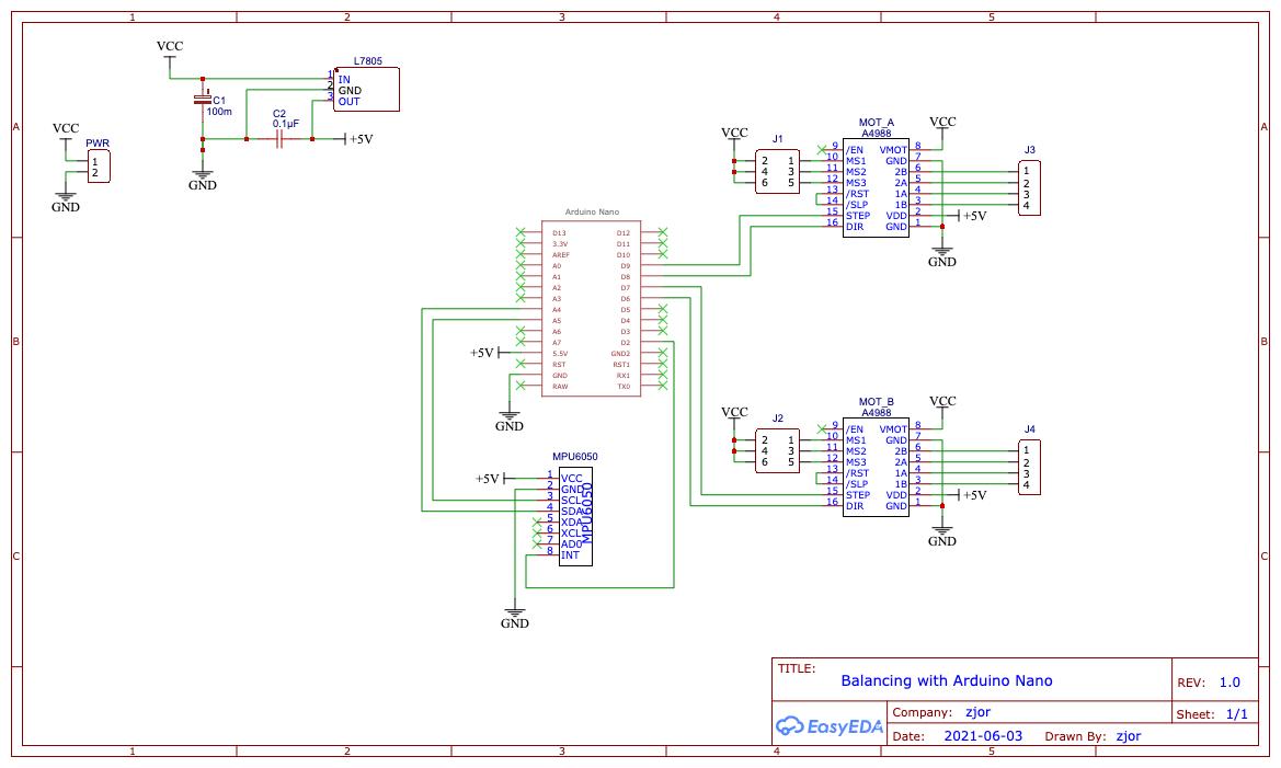 Балансирующий робот на Arduino Nano и шаговых моторах - 8