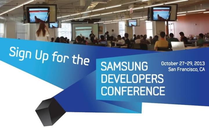 27 29 октября 2013: Конференция для разработчиков Samsung Developer Conference
