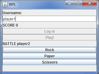 Game Development / Reddwarf на примере онлайн игры «Камень ножницы бумага»: Клиент