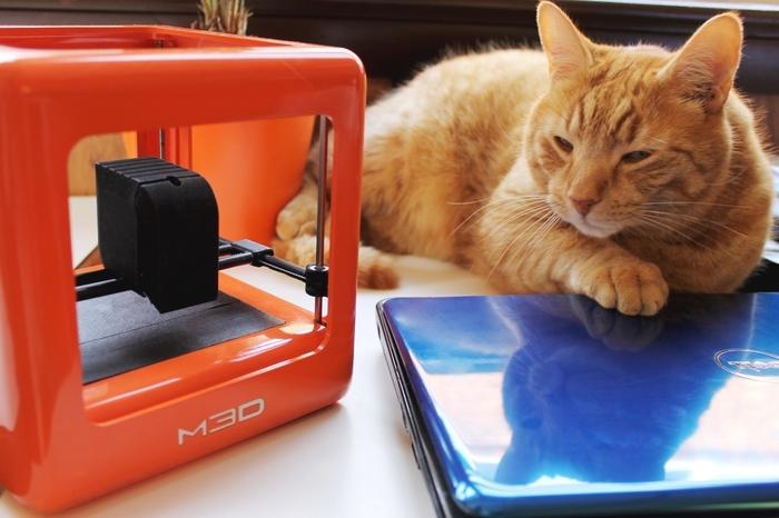 3D принтер «для всех» собрал на Kickstarter 1 млн долларов вместо 50 тысяч (всего за 2 дня)
