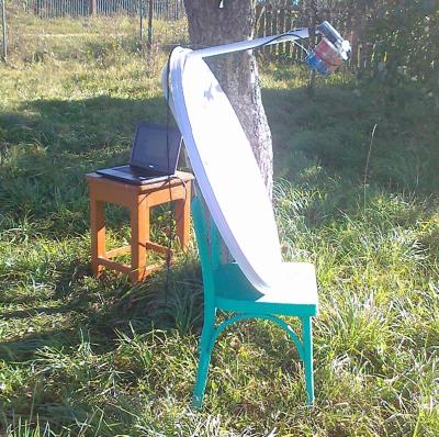 3G интернет в удаленности от базовой станции с помощью тарелки и кофейной банки