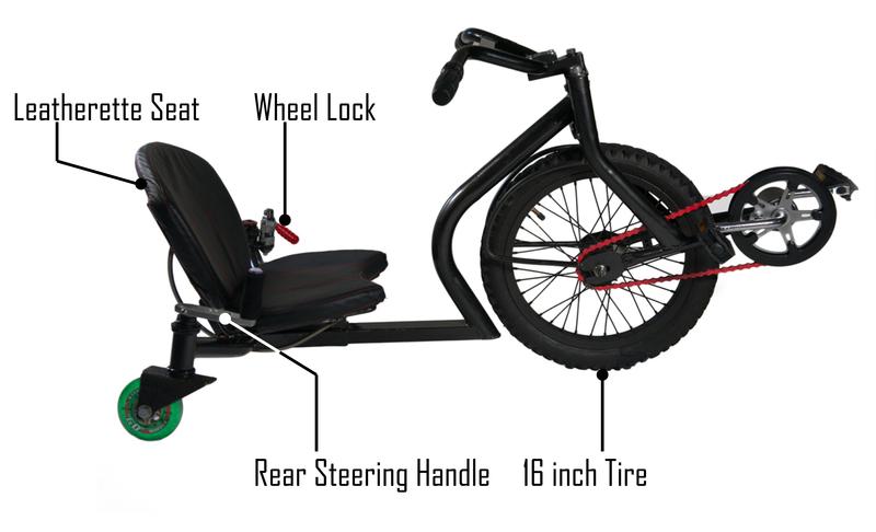 3х колёсный велосипед ONDA Cycle для больших детей