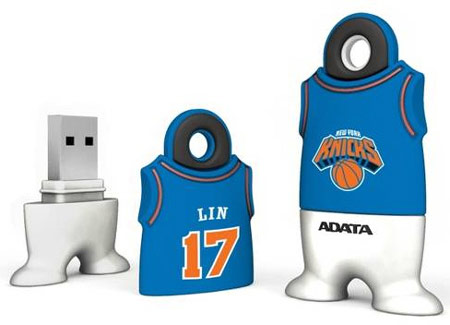 ADATA выпустила «флэшку» для фанатов баскетбола