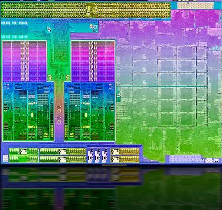 Первые представители второго поколения APU A имеют до четырех x86-совместимых ядер Piledriver