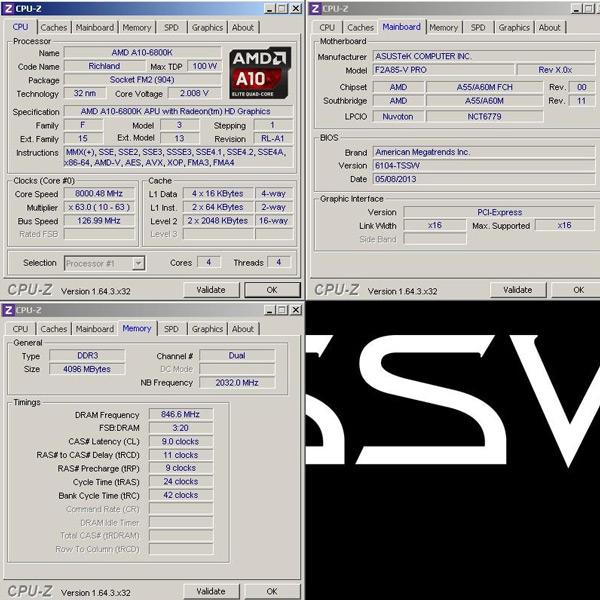 Основой системы для разгона APU AMD A10-6800K доя 8 ГГц послужила плата ASUS F2A85-V Pro
