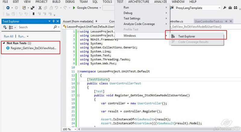 ASP.NET MVC Урок E. Тестирование