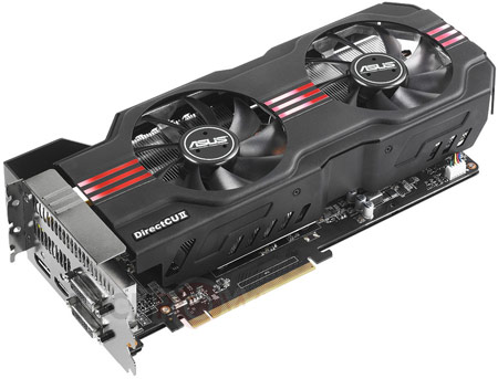 ASUS анонсирует 3D-карту с заводским разгоном GeForce GTX 680 DirectCU II TOP