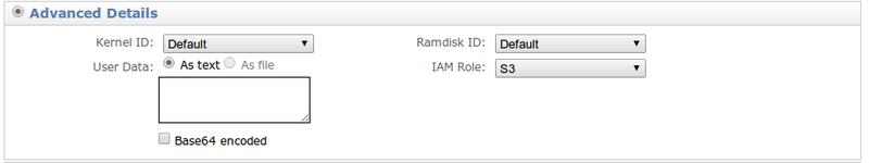 AWS: IAM роли для серверов