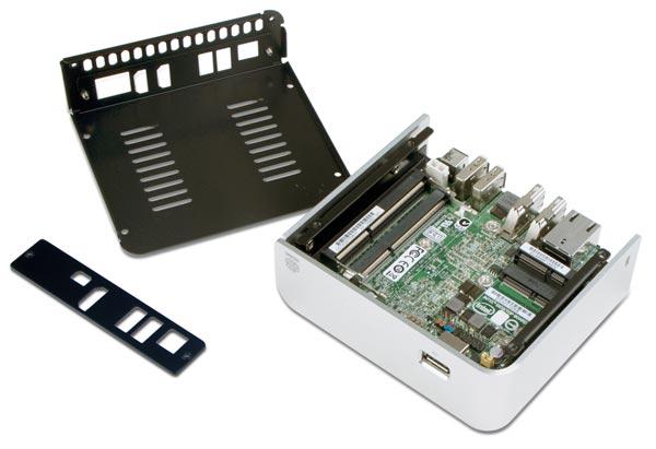 Abee предлагает яркие корпуса acubic NE01 и NE02 для Intel NUC
