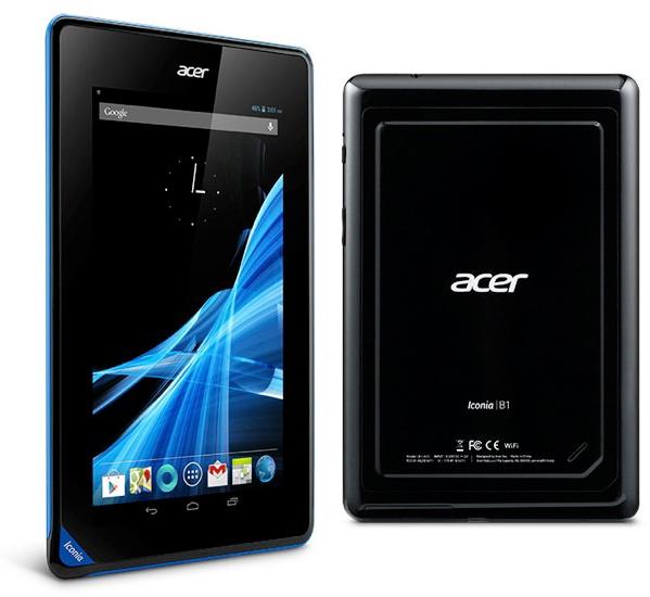 Модификация Acer Iconia B1-A71 с 8 ГБ стоит 119 евро