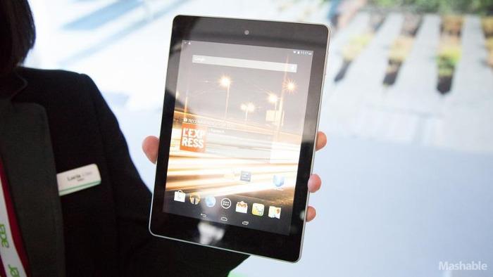 Acer представил новые гибридные устройства на Windows и дешёвый Android планшет