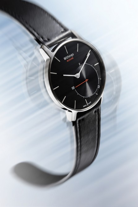 The Activité features a second analog dial that indicates a users progress against activit...