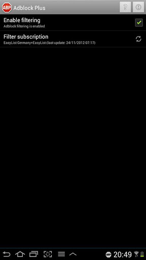 AdBlock Plus для Android (рут не нужен)