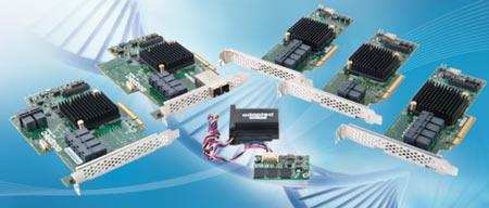 Adaptec выпускает контроллеры RAID с наибольшим в отрасли числом портов SAS/SATA 6 Гбит/с
