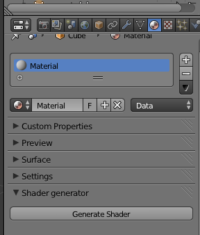 Addon для генерации материалов Cycles Blender