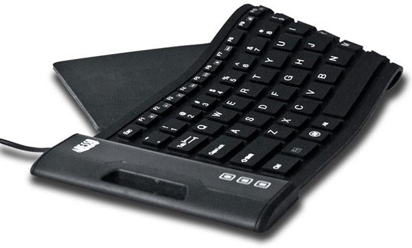 Клавиатура Adesso SlimTouch 222 имеет 108 клавиш