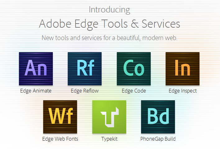 Adobe Edge Tools & Services