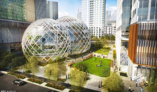 Amazon кампус