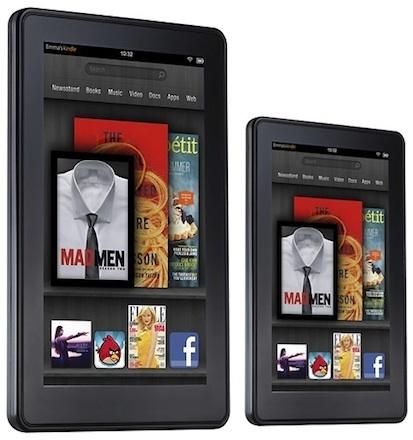 Amazon выпустит Kindle Fire с 10-дюймовым дисплеем