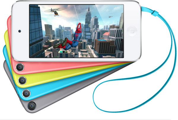 Проигрыватель iPod touch оснащен камерой iSight