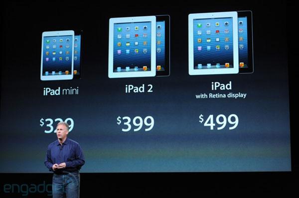 Линейка планшетов Apple начиная с сегодняшнего дня